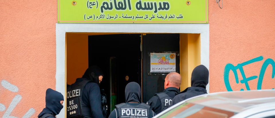 GERMANY-GOVERNMENT-POLICE-RELIGION