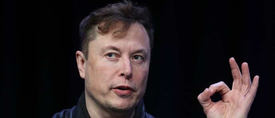 Elon Musk, founder and chief engineer of SpaceX speaks at the 2020 Satellite Conference and Exhibition March 9, 2020 in Washington, DC. (Win McNamee/Getty Images)