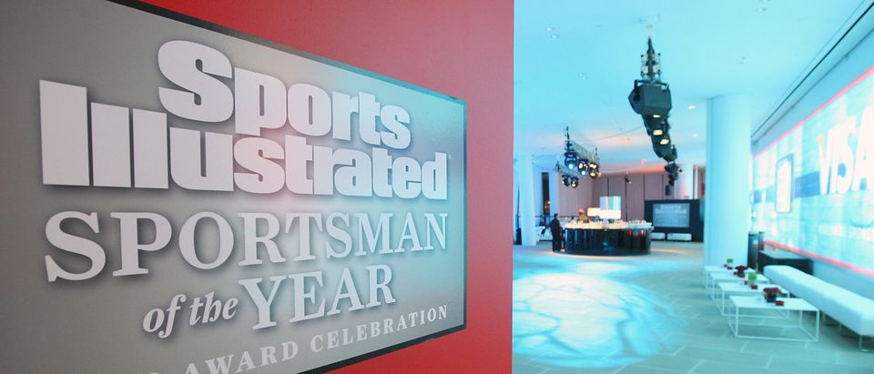 A general view of atmosphere at the Sports Illustrated 08 Sportsman of the Year Awards at IAC Building on December 2, 2008 in New York City. (Stephen Lovekin/Getty Images for Sports Illustrated)
