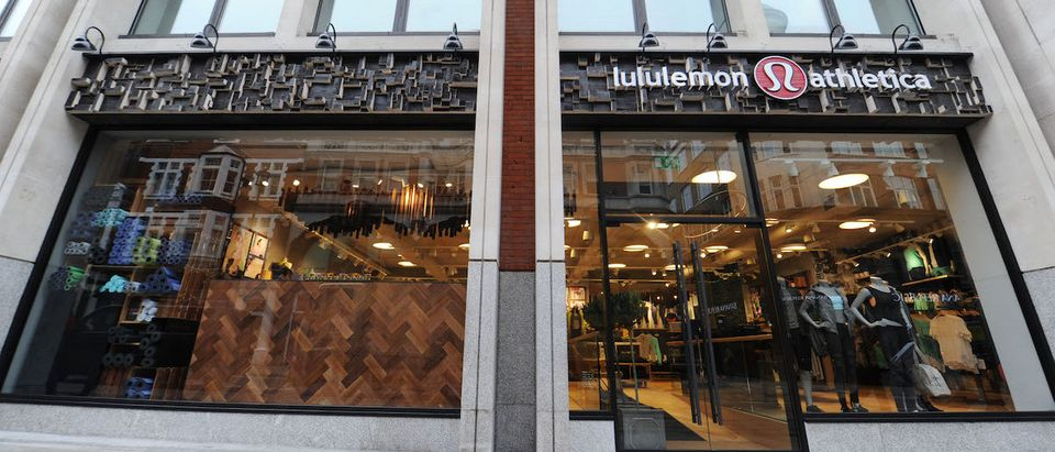 ululemon athletica opens its first European store in Covent Garden on March 28, 2014 in London, England. (Photo by Stuart C. Wilson/Getty Images for Lululemon Athletica)