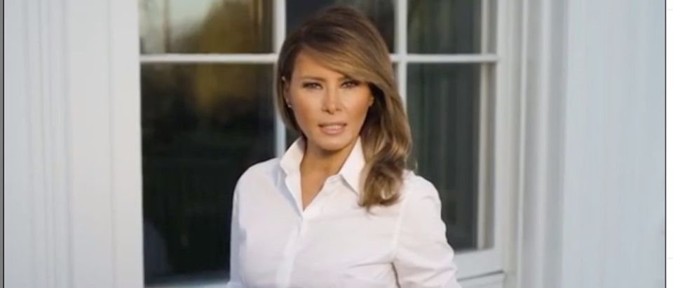 Melania Trump coronavirus video. (Photo: Instagram Screenshot)