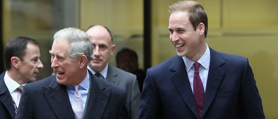 Prince Charles And Prince William Attend The Annual ICAP Charity Day