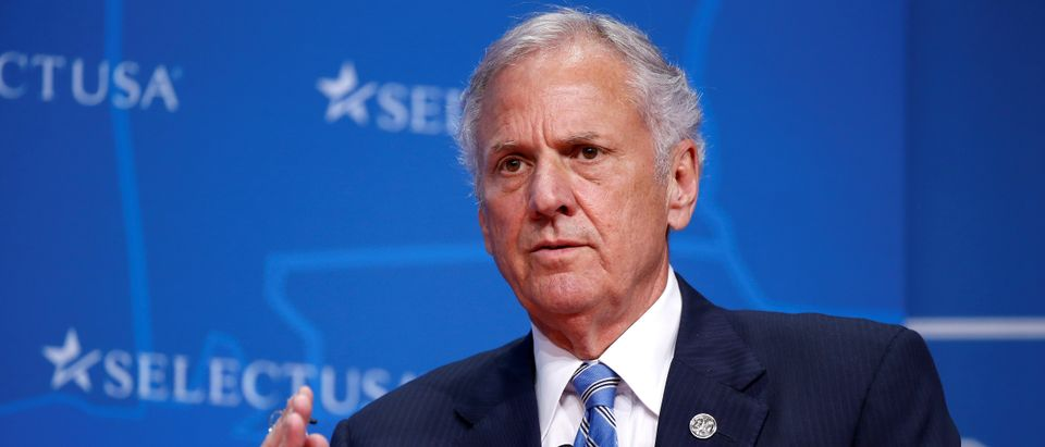Governor of South Carolina Henry McMaster speaks at 2017 SelectUSA Investment Summit in Oxon Hill, Maryland