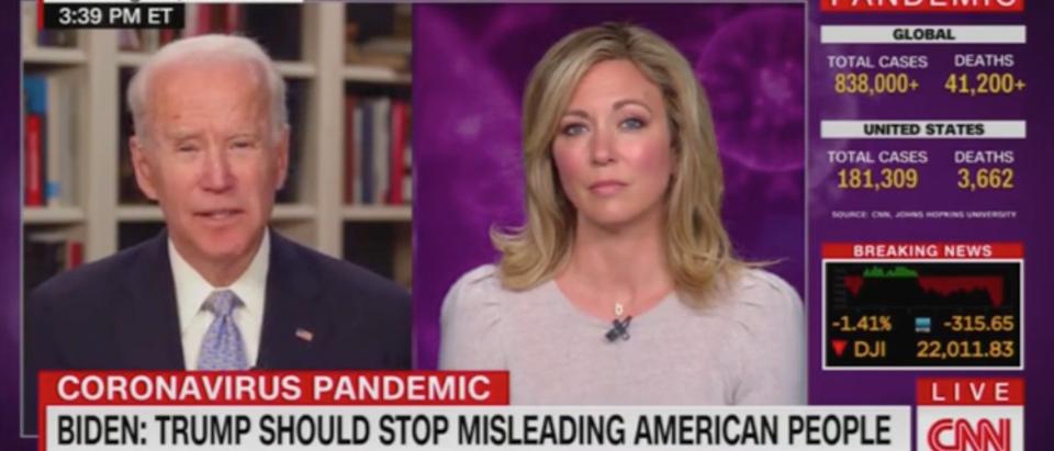 Joe Biden, Brooke Baldwin, CNN, Trump, Coronavirus