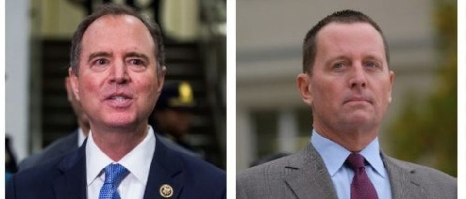 Adam Schiff, Richard Grenell (Getty Images)