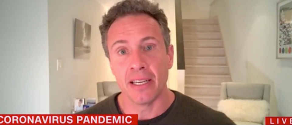 "Chris Cuomo appears on ""Cuomo Prime Time."" Screenshot/CNN"