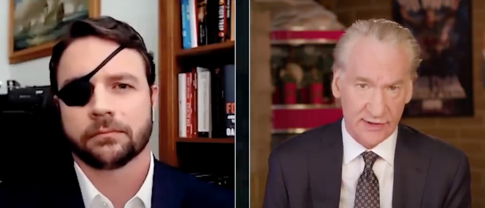 "Dan Crenshaw appears on ""Real Time with Bill Maher."" Screenshot/YouTube/RealTimeWithBillMaher"