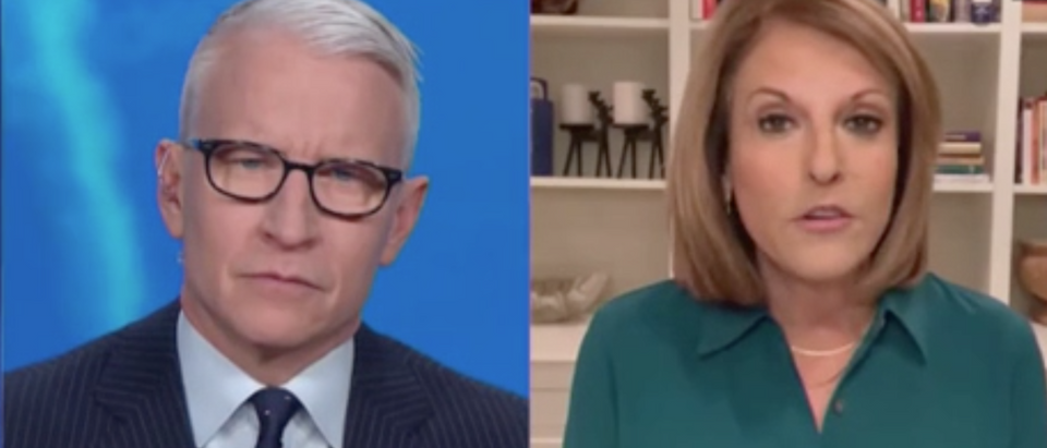 Anderson Cooper and Gloria Borger appear on AC360. Screenshot/ABC