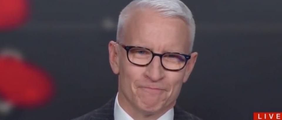 Anderson Cooper appears on AC360. Screenshot/CNN