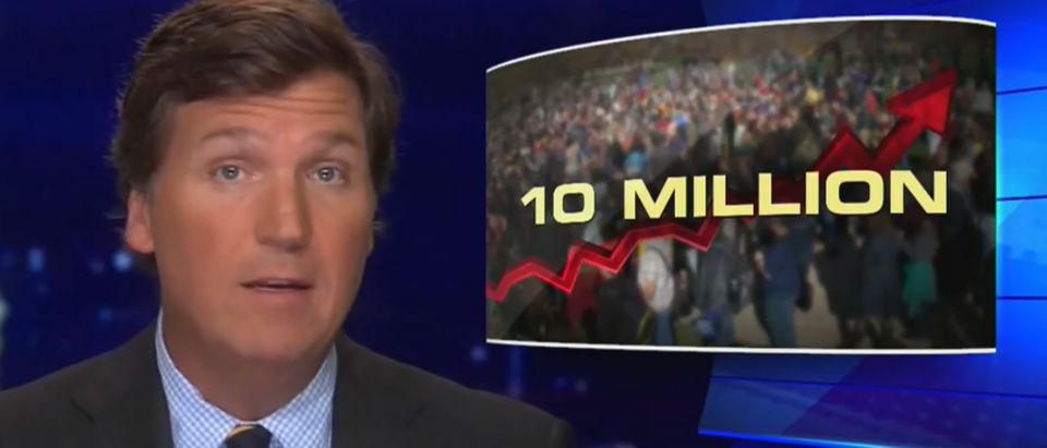 Tucker Carlson questions severity of economic response (Fox News screengrab)