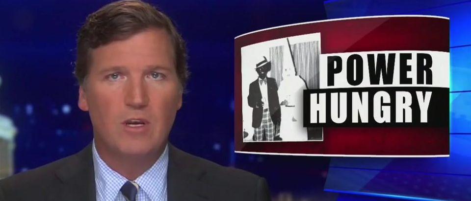 Tucker describes why Democrats encourage voter fraud (Fox News screengrab)