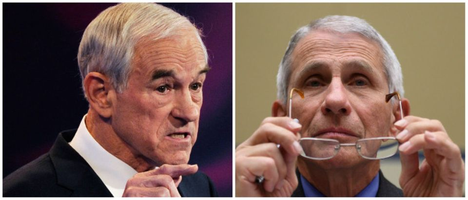 Ron Paul and Anthony Fauci