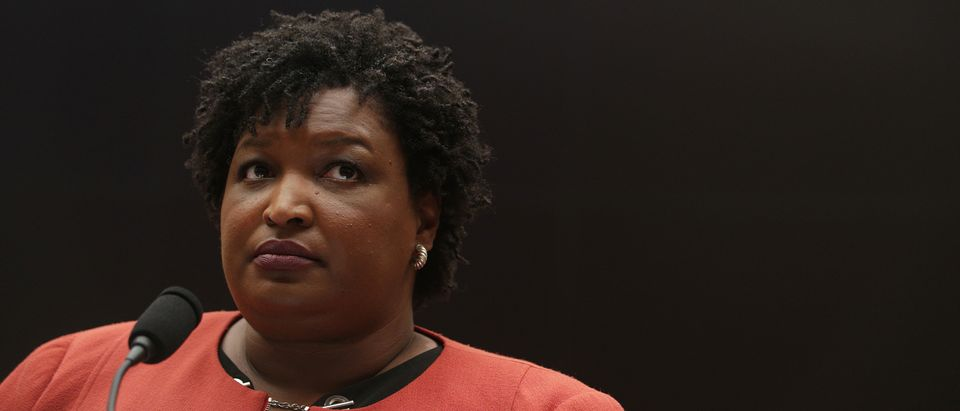 Stacey Abrams. (Daily Caller)