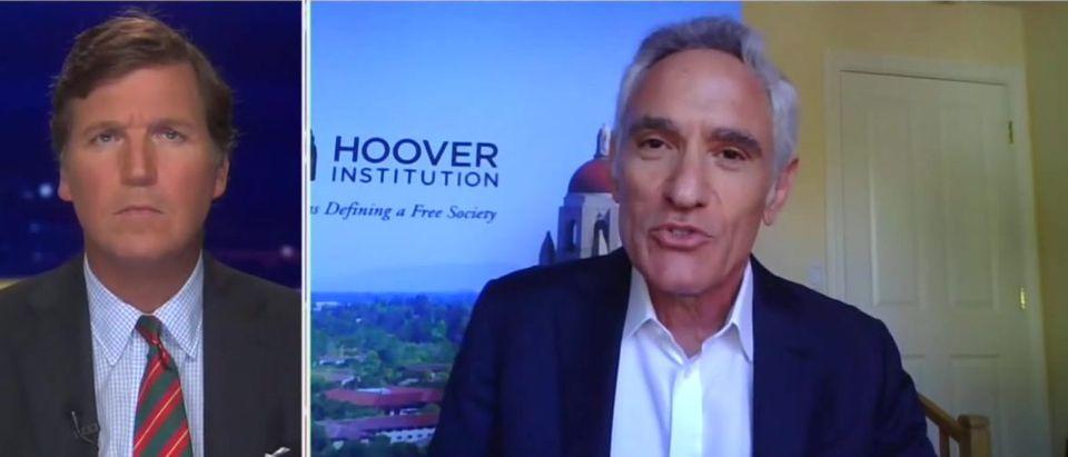 Stanford's Scott Atlas Makes The Case For Herd Immunity (Fox News screengrab)