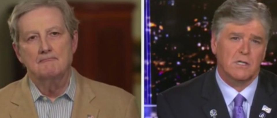 Sen. John Kennedy, Sean Hannity
