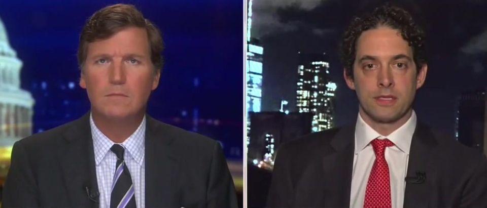 Alex Berenson blasts lockdown proponents (Fox News screengrab)