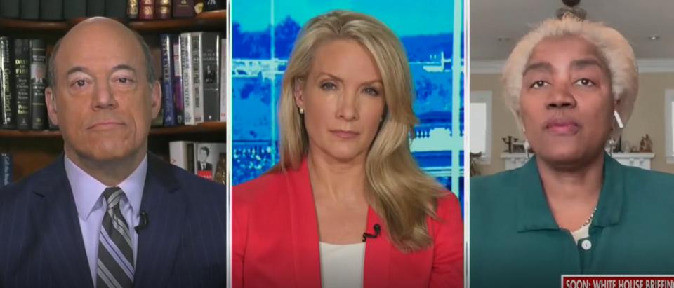 Dana Perino questions Donna Brazile on Tara Reade (Fox News screengrab)