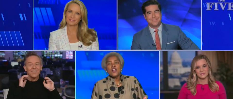 Donna Brazile claims no First Amendment right to lie (Fox News screengrab)