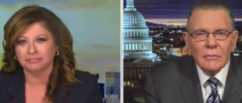 Maria Bartiromo and Jack Keane
