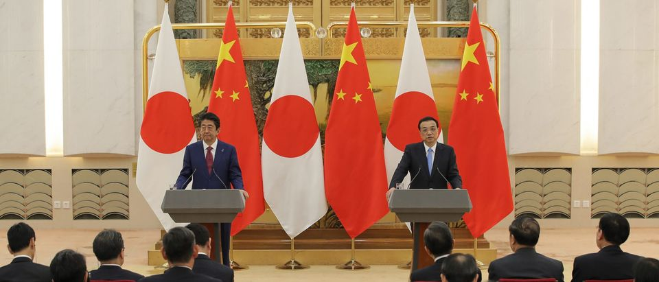 Japanese Prime Minister Shinzo Abe Visits China