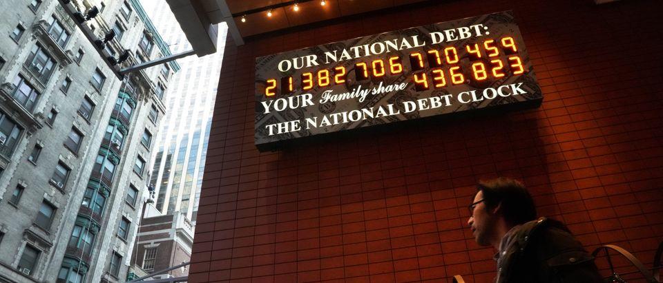 US-ECONOMY-NATIONAL-DEBT-CLOCK