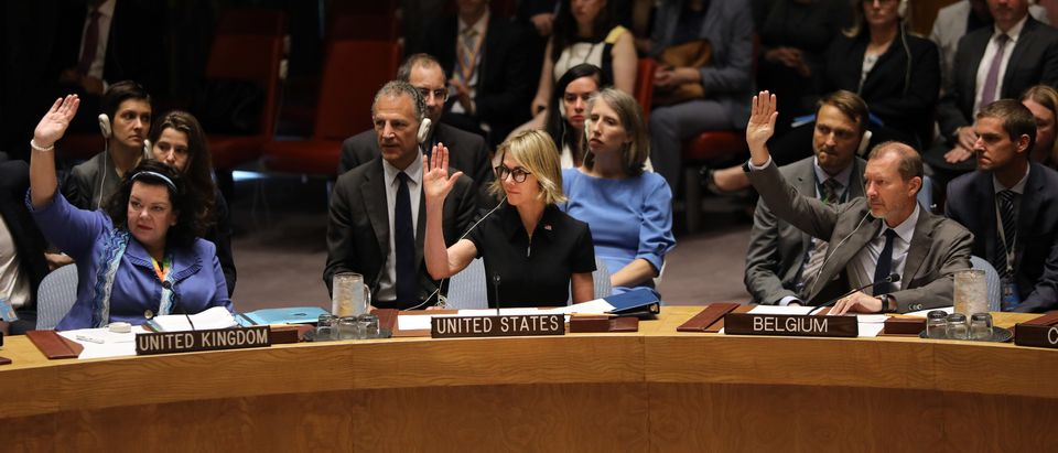 New US Ambassador To The U.N., Kelly Craft, Receives Her Official Credentials