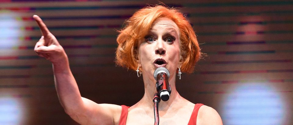 Liberal comedian Kathy Griffin posts tweet rooting for Trump's death