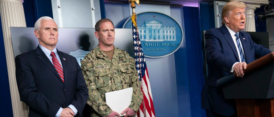 White House Coronavirus Task Force Speaks To The Media In Daily Briefing