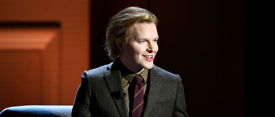 Ronan Farrow speaks onstage during the Women Changing The Conversation panel at HISTORYTalks Leadership & Legacy presented by HISTORY at Carnegie Hall on February 29, 2020 in New York City. (Noam Galai/Getty Images for HISTORY)