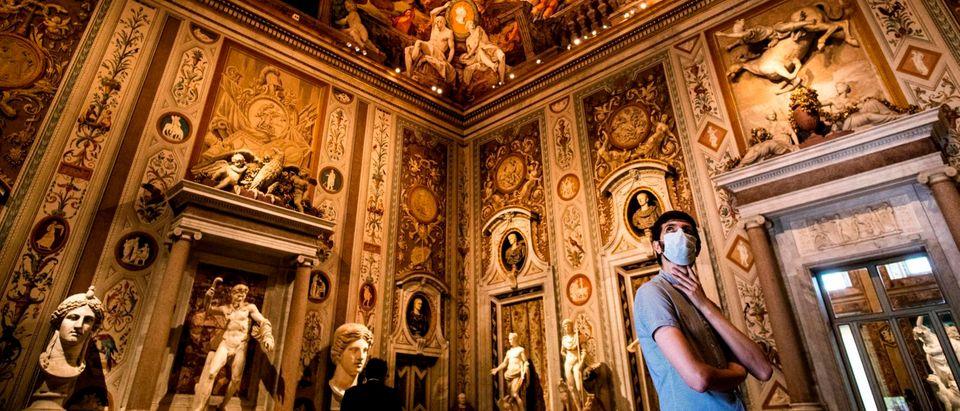 TOPSHOT-ITALY-HEALTH-VIRUS-CULTURE-MUSEUM