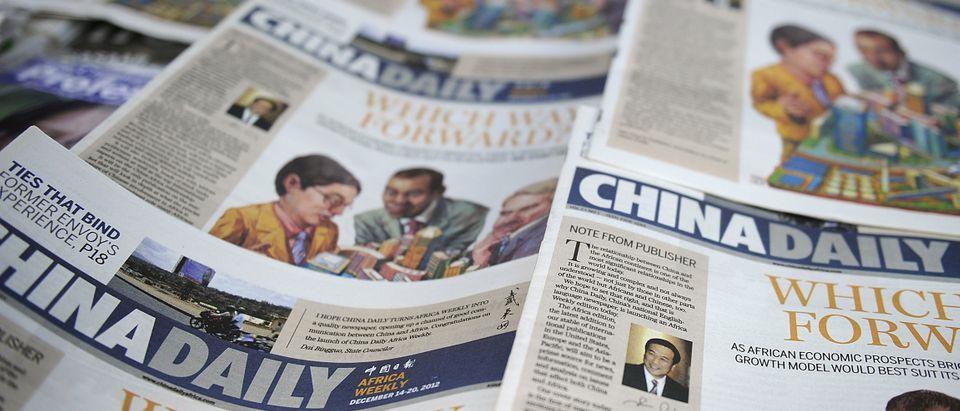CHINA-KENYA-AFRICA-MEDIA-NEWSPAPER