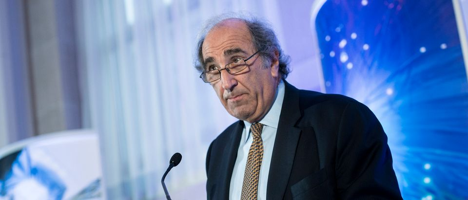 Andy Lack, Chairman of the Bloomberg Media Group, speaks during a discussion October 30, 2013 in Washington, DC. (BRENDAN SMIALOWSKI/AFP via Getty Images)