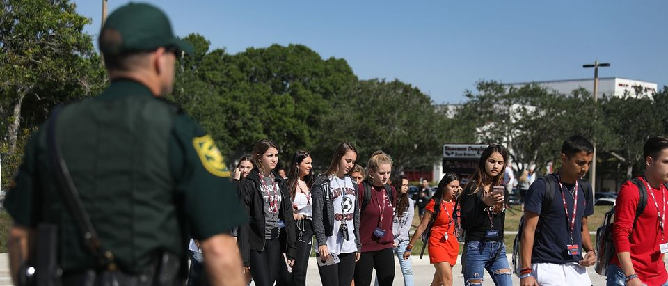 Students Across The Country Organize Walkouts In Protest Over Gun Violence