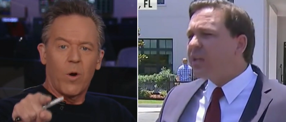 Greg Gutfeld praises Ron DeSantis (Fox News screengrab)
