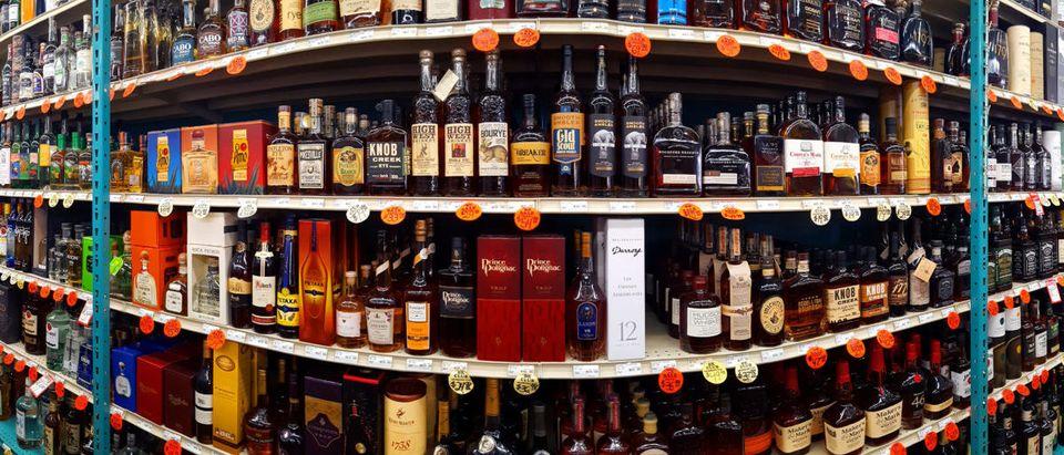 Liquor (Credit: Shutterstock/Mihai_Andritoiu)