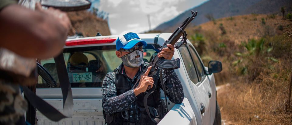 TOPSHOT-MEXICO-VIOLENCE-COMMUNITY POLICE