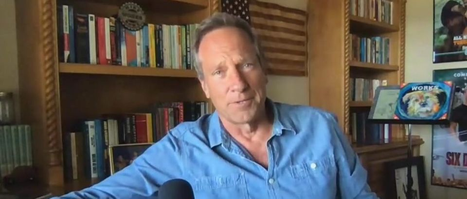 Mike Rowe takes issue with Andrew Cuomo (Fox News screengrab)