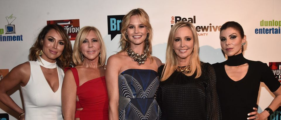"""Premiere Party For Bravo's """"The Real Housewives Of Orange County"""" 10 Year Celebration - Red Carpet"""