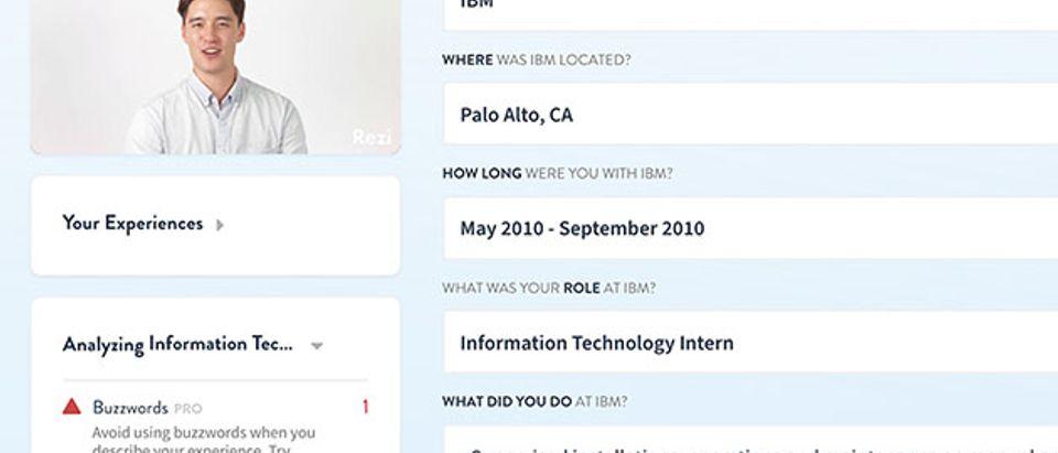 Resume IBM