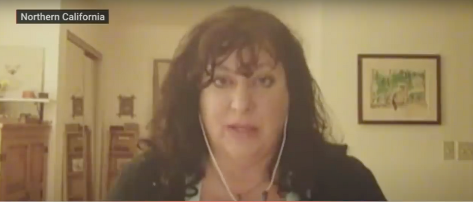 Tara Reade has accused Joe Biden of sexually assaulting her in the early 1990s. (Screenshot YouTube CBS News, https://www.youtube.com/watch?v=u_vD54tvAJo)