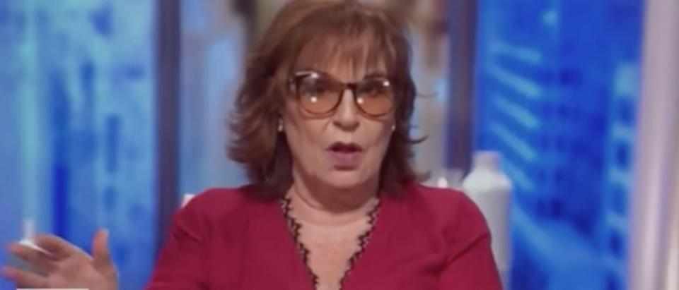 "Joy Behar appears on ""The View."" (Screenshot/ABC)"
