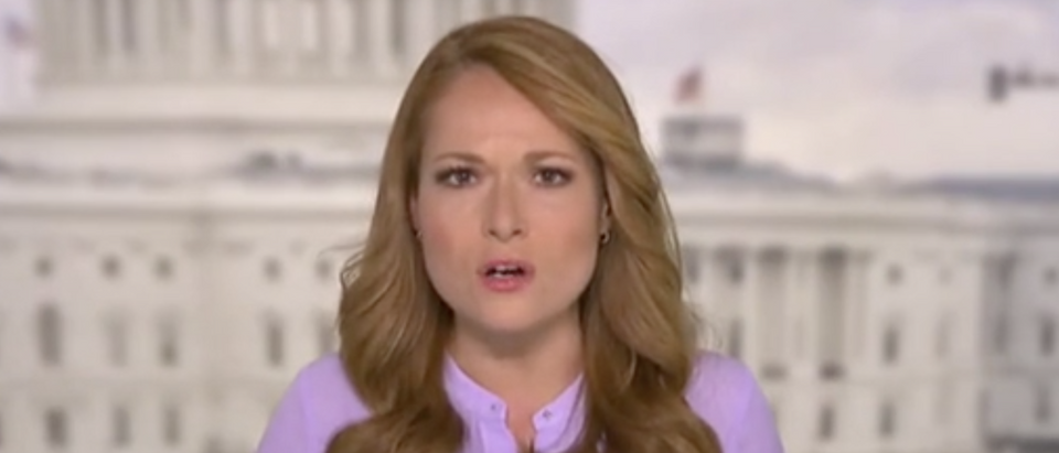 "Gillian Turner appears on ""Outnumbered."" Screenshot/Fox News"