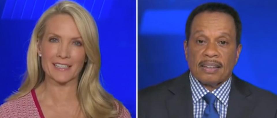 "Dana Perino and Juan Williams appear on ""The Five."" Screenshot/Fox News"