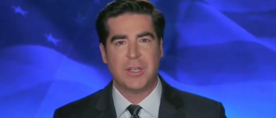 "Jesse Watters appears on ""The Five."" Screenshot/Fox News"