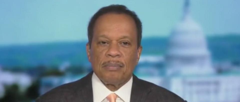 Juan Williams appears on Fox News. Screenshot/Fox News