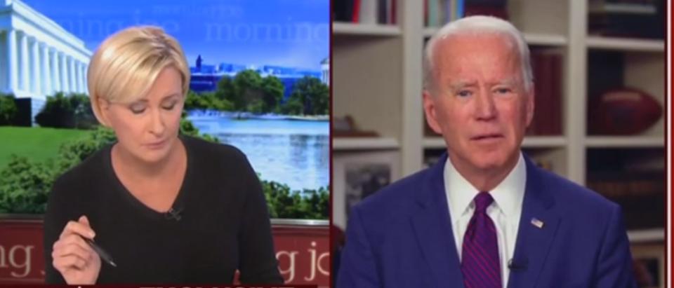 Joe Biden on Morning Joe
