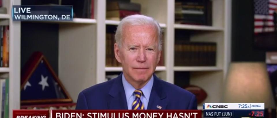Joe Biden Doubles Down On Pledge To Raise Taxes Amid Coronavirus Pandemic