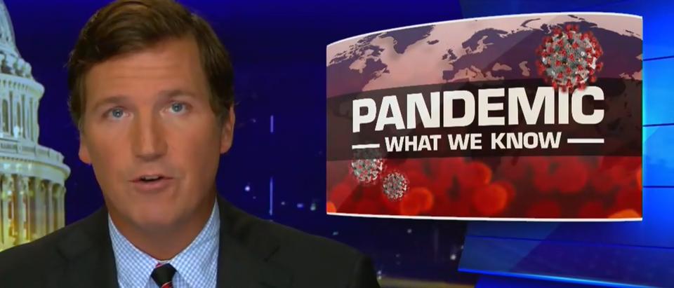 Tucker Carlson explains how 'China won' (Fox News screengrab)