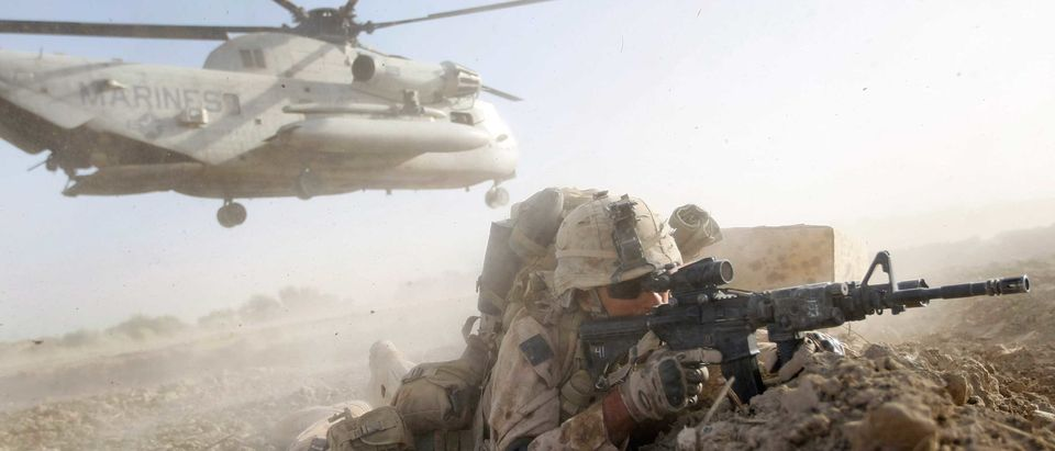 U.S. Marines Continue Suppression Of Insurgents