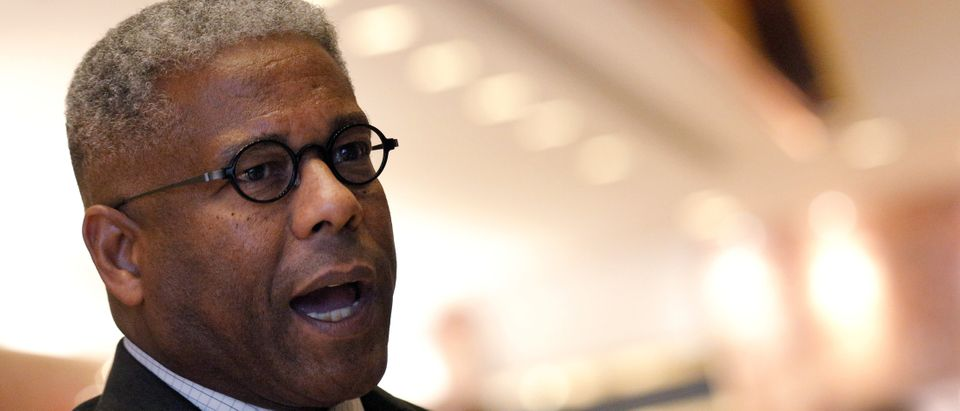 Former U.S. Congressman and retired U.S. Army Lieutenant Colonel Allen West speaks to the press after meeting with U.S. President-elect Donald Trump at Trump Tower in Manhattan, New York City, U.S. December 5, 2016. REUTERS/Brendan McDermid